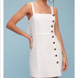 Lulu's button down dress M